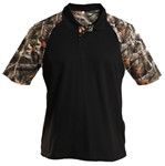 Lost Camo Short-Sleeve Solid-Body Polo Shirt