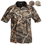 Lost Camo Short-Sleeve Polo Shirt